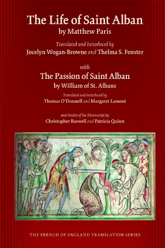 Life of St. Alban by Matthew Paris (French of English Translation Series (FRETS))