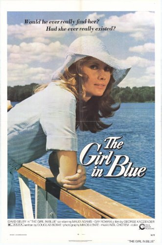 The Girl In Blue Plakat Movie Poster (27 x 40 Inches - 69cm x 102cm) (1974)