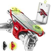 """Bone Collection Pro 4 (4e Gen) Face ID-compatibele fietstelefoonhouder voor STUURPEN-montage 5.8"""" - 7.2""""-scherm smartphones, ultralichte fietstelefoonhouder, Ontworpen voor weg-, race- en toerfietsen"""