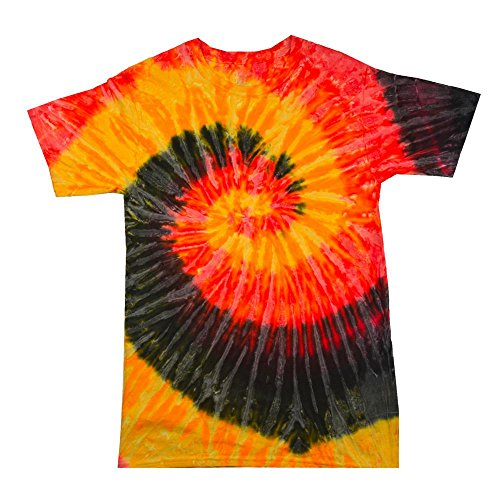 Colortone Unisex Batik T-Shirt 'Rainbow' Kingston