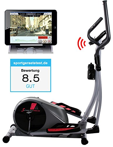 Sportstech CX610 Profi Crosstrainer mit Smartphone App