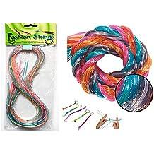 d987d8da7711 PICCOLI MONELLI Hilos de Scoubidous para Crear Pulseras de Collares de  Bricolaje y Mucho más.