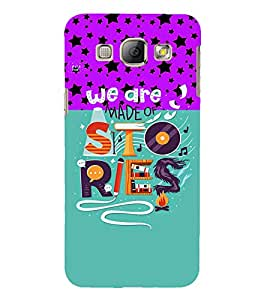 PrintVisa Quotes & Messages Life Colorful 3D Hard Polycarbonate Designer Back Case Cover for Samsung Galaxy A8
