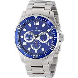 Le Chateau Men's 7072mssmet_bl Sport Dinamica Chronograph Watch