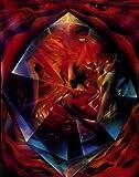 Tarot-Karte (ca.10x14cm) XV Der Teufel
