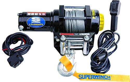 Superwinch 1140220 LT4000ATV 12 VDC Winch 4, 000lbs/1814kg Single Line on