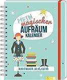 Mein magischer Aufräumkalender 2018/2019: Mit 140 Stickern