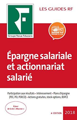 Epargne salariale et actionnariat salari