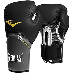 Everlast® 3312U Gants de Boxe Adulte Unisexe, Noir, 12oz