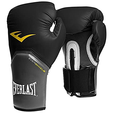 Everlast Men's Pro Style Elite Training Boxing Gloves - Black,
