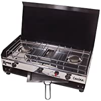 Kampa Cucina Double Gas Hob And Grill Camping Cooking Stove Cooker 14