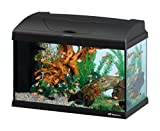 Ferplast 65015017W1 Aquarium Capri 50, Maße: 52 x 27 x 36 cm, 40 Liter, schwarz