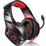ONIKUMA PS4 Gaming Headset través de oído Stereo Gaming Auriculares...