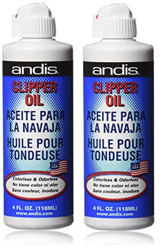 Andis Blue Clipper Oil, 118 ml   Pack of 2