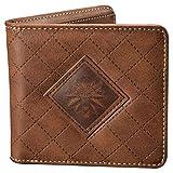bolso medallón de brujo Lobo Logo Wild Hunt billetera marrón 9,8x10,8x1,8cm