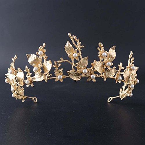 Jovono Hochzeitskronen und Tiaras für Bräute, Brautschmuck, Party-Tiara, Accessoires für Damen
