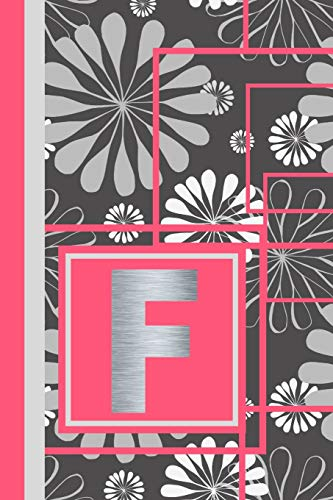 F: Monogram F Writing Journal