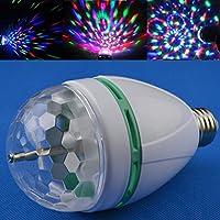 ukbiology 1pieza fiesta party a todo color 3W Proyector Luz Magic cristal baile bombillas LED bombilla lámpara de efecto