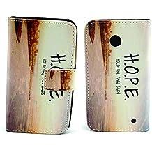 Dokpav® Teléfono Celular Cuero Funda de Nokia Lumia 630, Ultra Delgada Fina Cubierta una función Con Ranura Para Tarjetas Soporte Protección Flip Case Cover de Cuero de la Piel PU Carcasa para Nokia Lumia 630 (Esperanza)