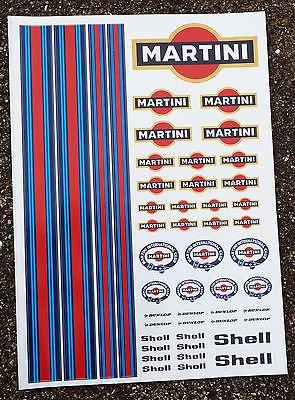 RC Martini Sticker Aufkleber Mardave Kyosho Tamiya HPI
