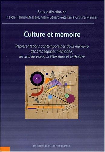 Culture & Mémoire Représentations Contempora...