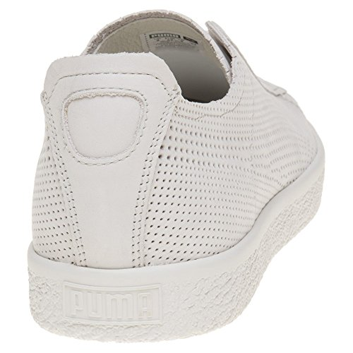 Puma X Stampd Clyde Homme Baskets Mode Blanc Blanc