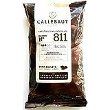 Callebaut Bélgica chocolate oscuro Callets - 1 x 1kg
