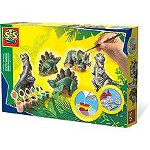 SES Deutschland 01406 - Set para pintar figuras de dinosaurios [importado de Alemania]