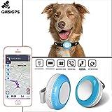 MUXAN GPS Pet Tracker,IP65 Waterproof Tracker Pet Mini Tracker Dog & Cat Real-time
