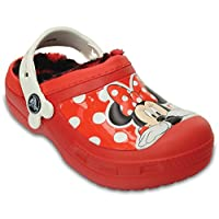 Crocs - Girls Creative Minnie Fuzz Lined Clogs