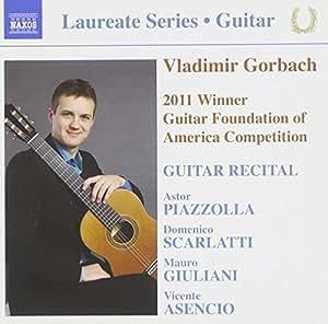 Gorbach Guitar Recital 2011 (Naxos: 8.573023)