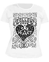 SUNRISE AVENUE - Painted - Follow your Heart - GIRLIE - Shirt