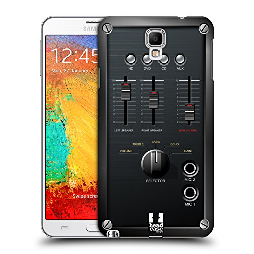Head Case Designs Mixer Amp Box Protective Snap-on Hard Back Case Cover for Samsung Galaxy Note 3 Neo N7505 - Stand Compact Mixer