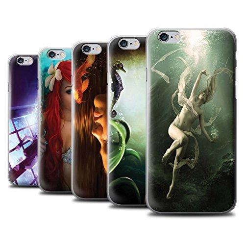 Officiel Elena Dudina Coque / Etui pour Apple iPhone 6 / Sonrisas/Dauphin Design / Agua de Vida Collection Pack 7pcs