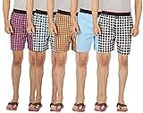 JOVEN Men's Pack of 5 Assorted Mulicolor...