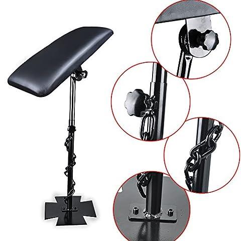 Vanyda Professional Tatouage Bras Repose-pied Studio Chaise réglable Portable d'alimentation Tabouret kit