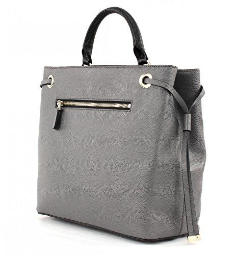 GUESS Cooper Bucket Grey Multi Tan Grey (Gris)