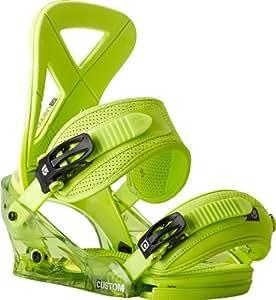 Burton Men's Snowboard Bindung Custom Green lime Size:L