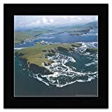 Gifted Calendars Mini-Poster, Motiv Britain from The Air -