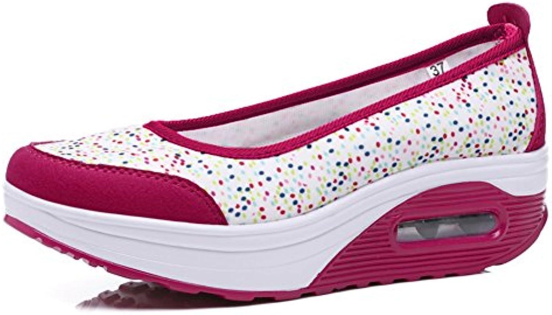 Signore della luce scarpe casual Scarpe alte piattaforma Mesh traspirante scarpe da ginnastica | scarseggia  | Uomo/Donna Scarpa