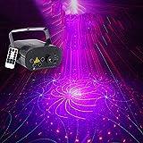 YHDEN DJ Party Lights, Luci per Feste a Distanza a 5 buche, luci per palcoscenici per casa Ktv, Flash ad attivazione vocale