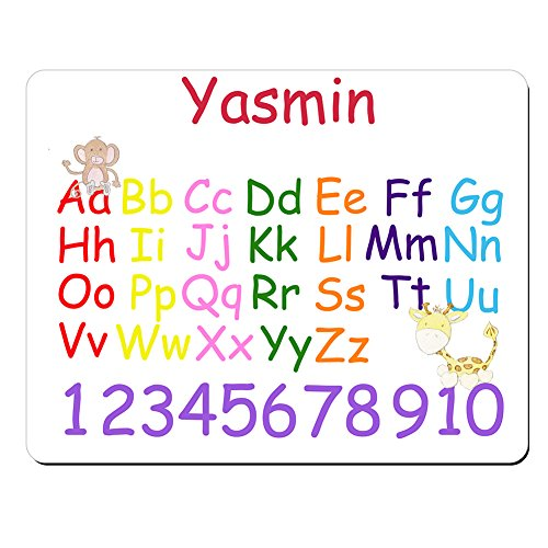 yasmin-personalised-kids-alphabet-and-numbers-educational-premium-mouse-mat-5mm-thick