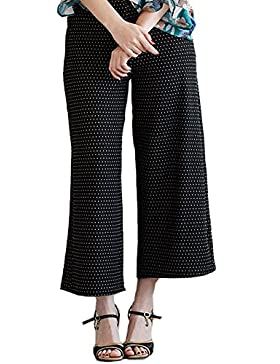 Titis Pants Coulotte Negro Mujer