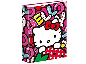 Hello Kitty- Carpetas, Multicolor (Montichelvo MC-53867)