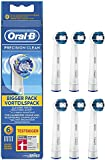 Braun Oral-B Precision Clean Electric Replacement Toothbrush Heads - Pack of 6