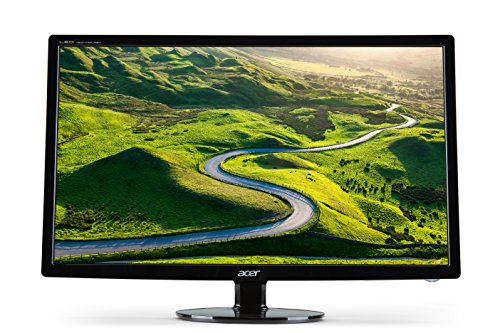 Acer S241HLC 24 inch Wide Screen Monitor (16:9, Full HD, LED, 1 ms, 100M:1, Acer EcoDisplay) - Black
