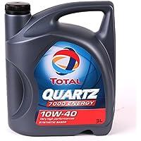 Total 169153/201537 Quartz 7000 Energy 10W-40 Aceites de motor para coches, 5 Litros