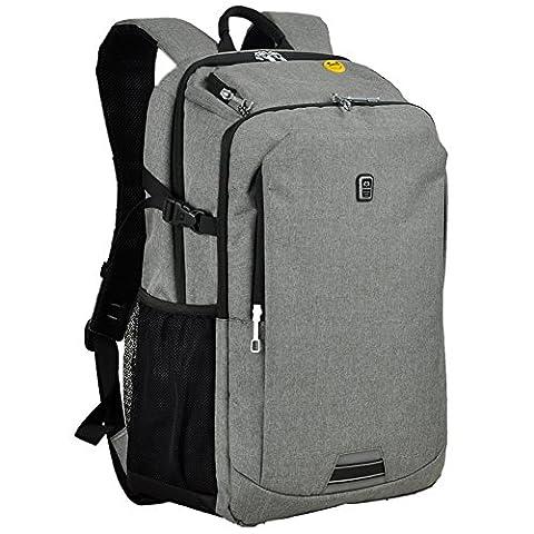 Koolerpek Waterproof Business Backpack for Laptop Up to 17 inch Grey