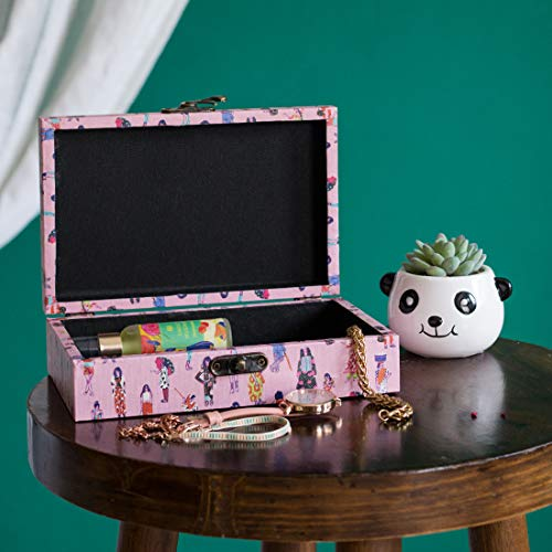Chumbak You Go Girl Pink Storage Box