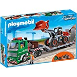 Playmobil 5026 Low Loader with Wheel Loader